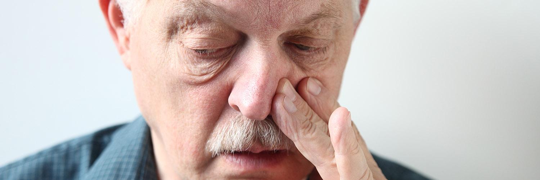 sår i nesen