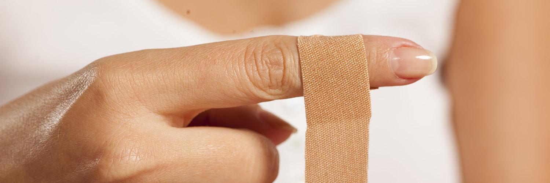 sår på huden