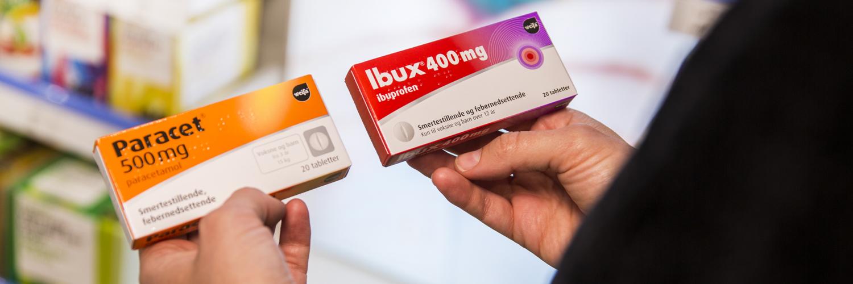 paracet eller ibux mot forkjølelse