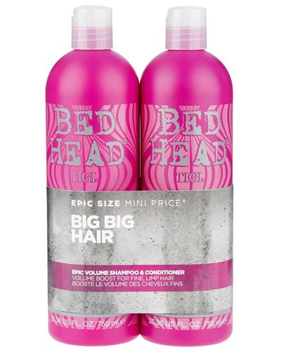 Tigi Bed Head Epic Volume sjampo og balsam 2x750ml