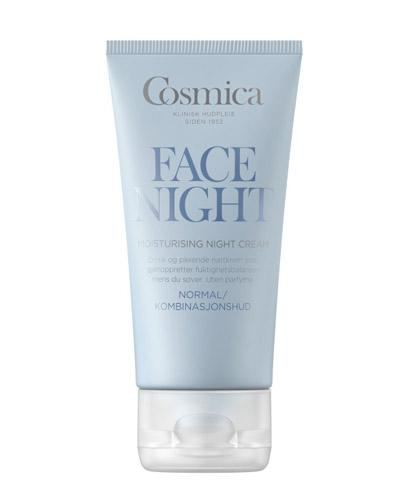 Cosmica Face moisturising nattkrem normal/komb 50ml