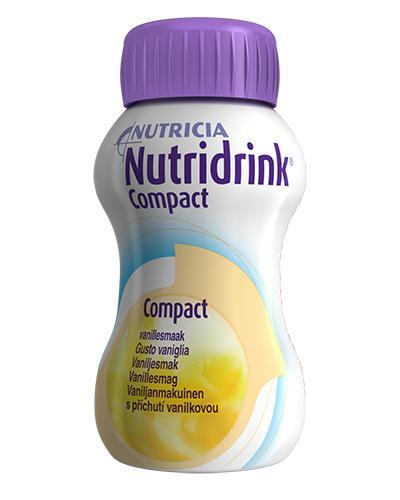 Nutridrink Compact næringsdrikk vanilje 4x125ml
