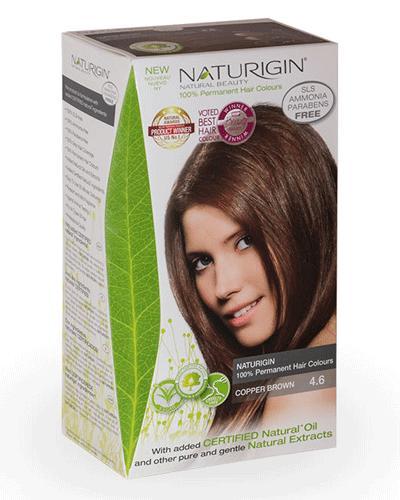 Naturigin hårfarge 4.6 Brown Copper 1stk
