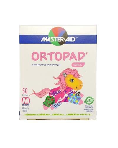Masteraid Ortopad øyeplaster jenter medium 50stk