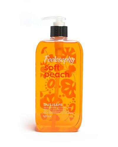 Feelosophy dusjsåpe peach 600ml