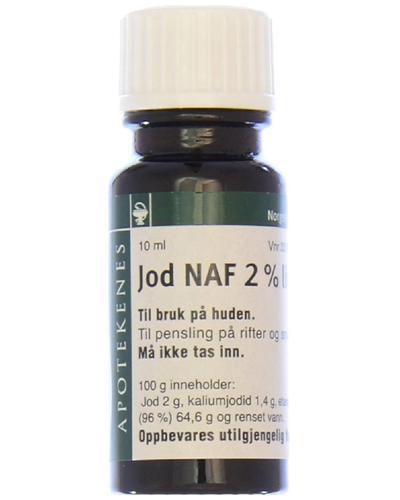 Jod NAF 2% liniment 10ml