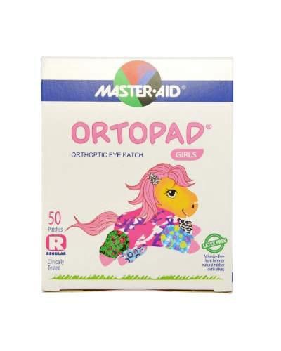 Masteraid Ortopad øyeplaster jenter regular/large 50stk
