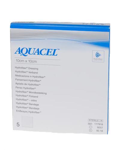 Aquacel hydrofiber bandasje 10x10cm 5stk