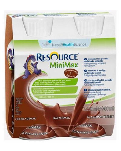 Resource MiniMax næringsdrikk sjokolade 2x200ml