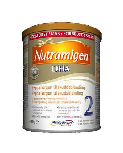 Nutramigen 2 DHA hypoallergen spesialnæring 400g