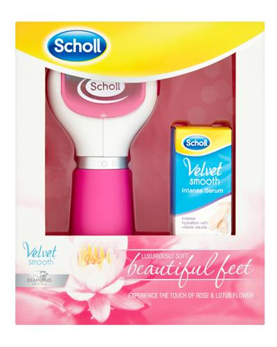 Scholl Velvet Smooth gavesett med fotfil og serum 1sett