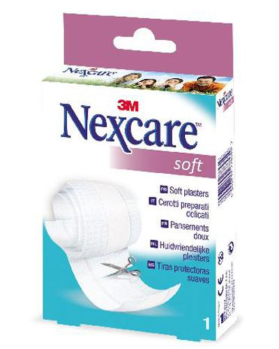 Nexcare Soft plasterrull for sensitiv hud 9,4cmx1m 1stk
