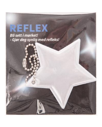 Refleks myk stjerne 1stk