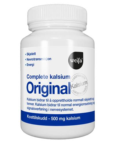 Complete Kalsium 500mg tyggetabletter 100stk