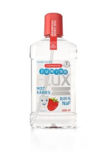 Flux Junior fluorskyll 0,05% jordbær 500ml