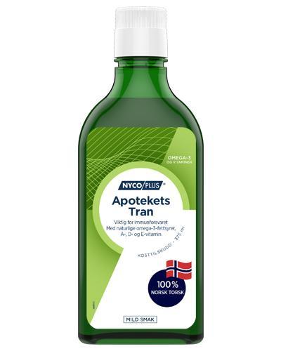 Nycoplus Apotekets tran mild smak 375ml