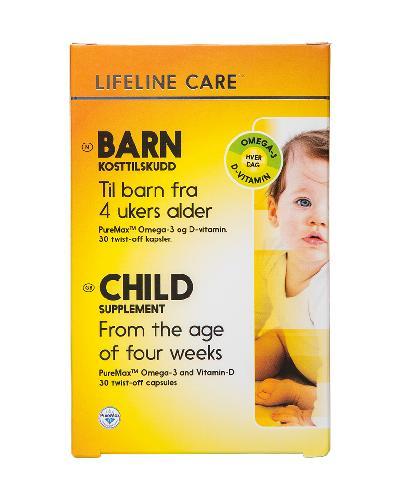 Lifeline Care Barn kapsler 30stk