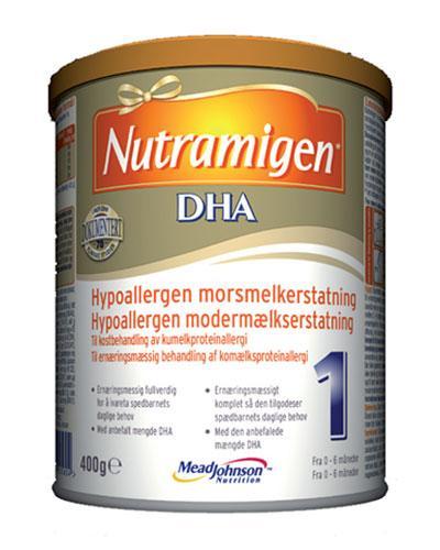 Nutramigen 1 DHA hypoallergen spesialnæring 400g