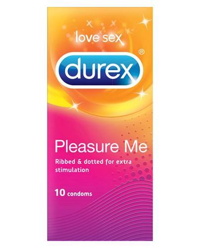 Durex Pleasure Me kondomer 10stk