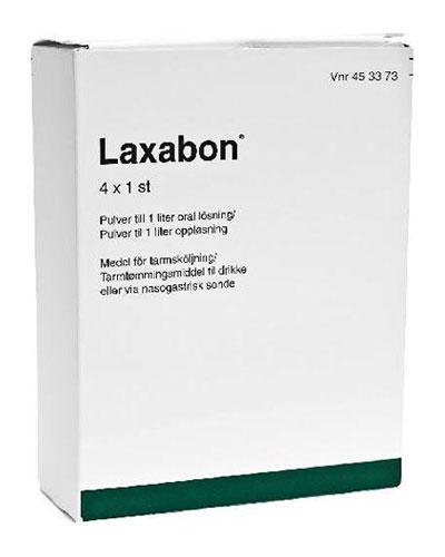 Laxabon pulver 4x68,5g