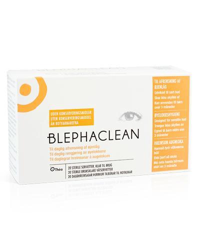 Blephaclean sterile våtservietter 20stk