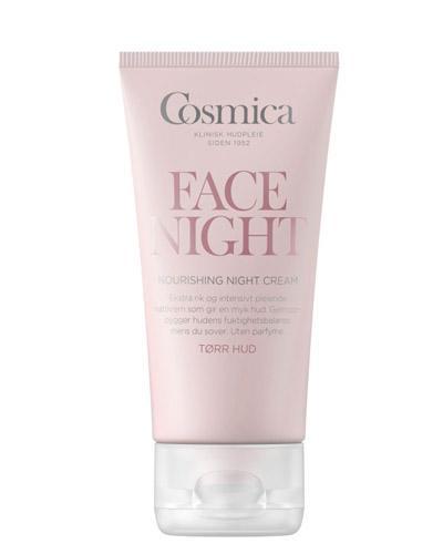 Cosmica Face nourishing nattkrem tørr hud 50ml
