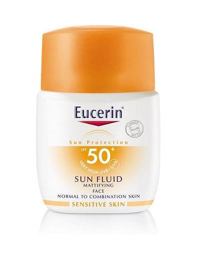 Eucerin Sun Face fluid solkrem SPF50+ 50ml
