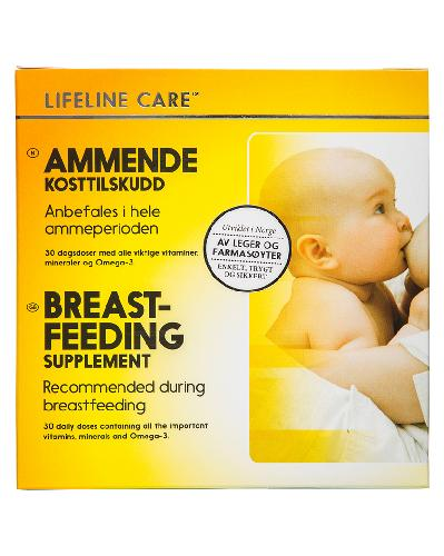 Lifeline Care Ammende 4x30stk