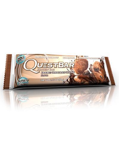 Questbar proteinbar double chocolate chunk 60g