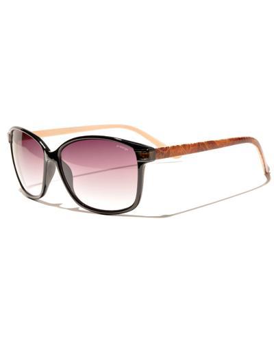 Prestige solbrille sort/lysebrun 1stk