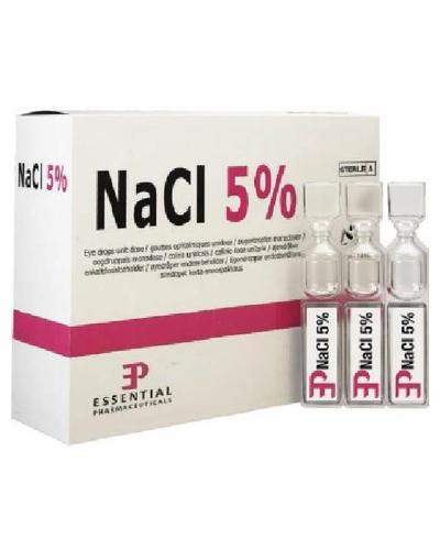 NaCl 5% øyedråper sterile 20x0,45ml