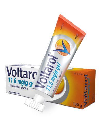 Voltarol 11,6mg/g gel 100g