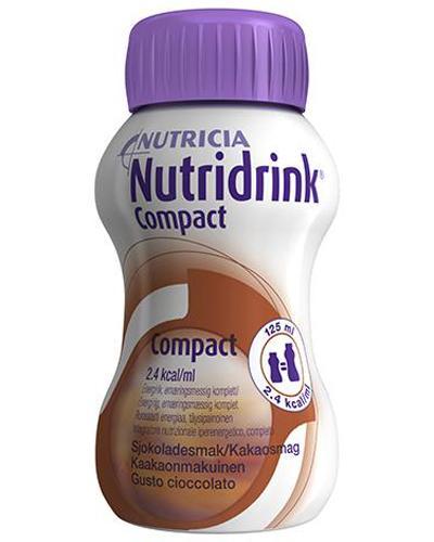 Nutridrink Compact næringsdrikk sjokolade 4x125ml