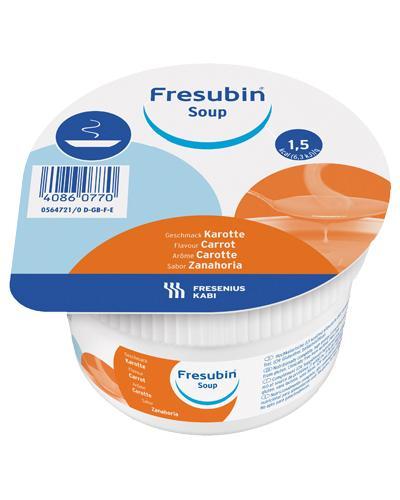 Fresubin Soup næringstilskudd gulrot 4x200ml