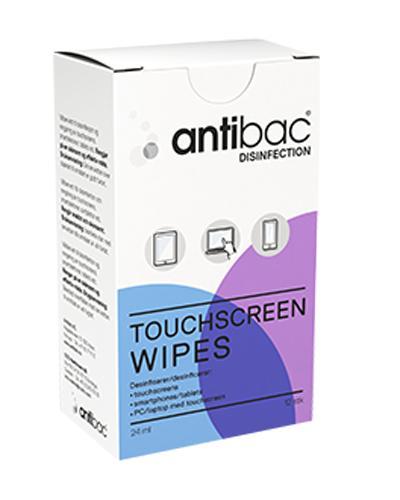 Antibac våtservietter for touchscreen 12stk