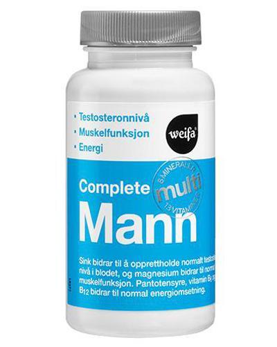 Complete Multi mann tabletter 60stk