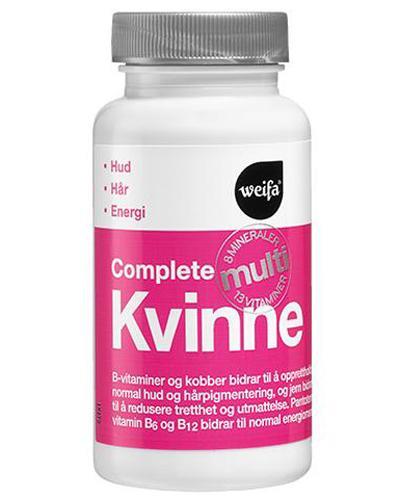 Complete Multi kvinne tabletter 60stk