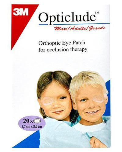 Opticlude øyelapp maxi 20stk