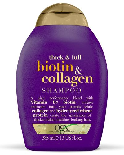 Ogx Biotin & Collagen sjampo 385ml