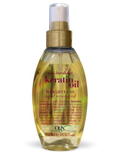 Ogx Keratin Oil weightless reviving hårolje spray 118ml