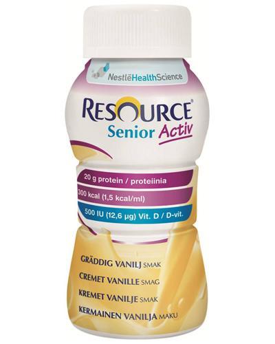 Resource Senior Activ næringsdrikk vanilje 4x200ml
