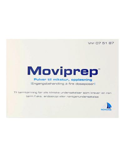 Moviprep pulver i doseposer 2+2stk