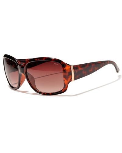 Prestige solbrille brun med dyreprint 1stk