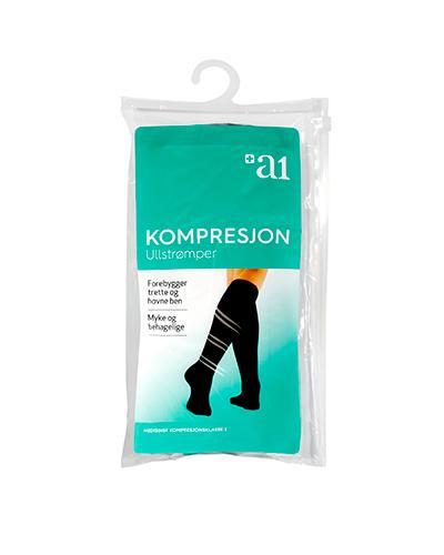a1 Kompresjon ull 44/45 1par