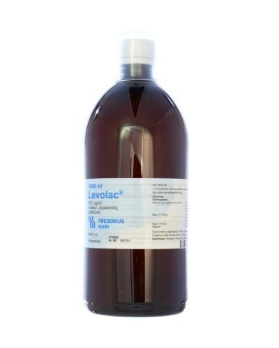 Levolac 670mg/ml mikstur 1000ml