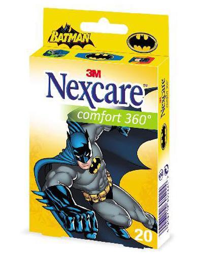 Nexcare Comfort Batman plaster 20stk