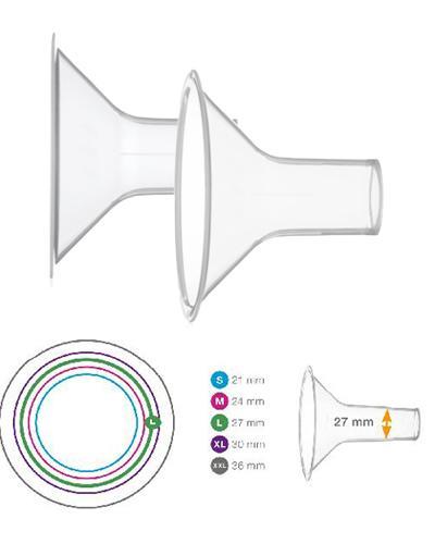 Medela Personal Fit brysttrakt str L (27mm) 2stk