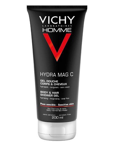 Vichy Homme Hydra Mag C dusjgel og sjampo 200ml