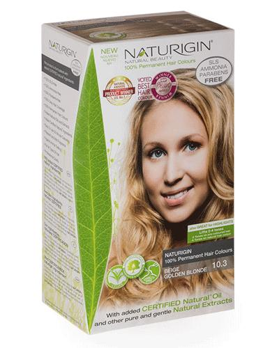 Naturigin hårfarge 10.3 Beige Golden Blond 1stk
