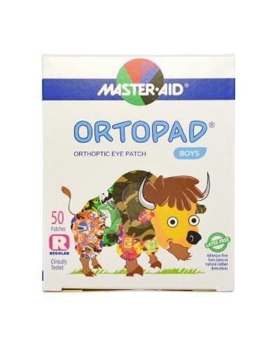 Masteraid Ortopad øyeplaster gutter regular/large 50stk